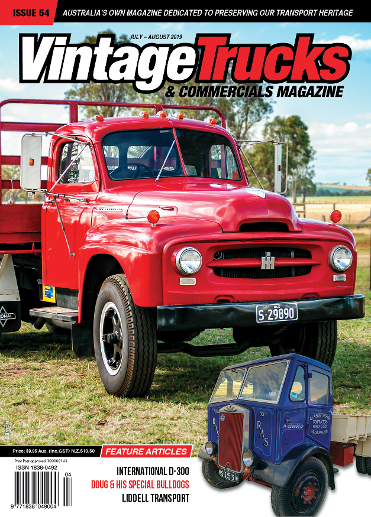 Vintage Trucks and Commercials Magazine