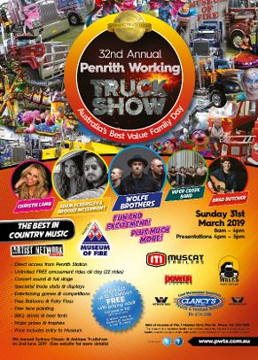 Penrith Working Truck Show